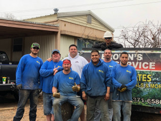 browns tree service workers in fort worth texas