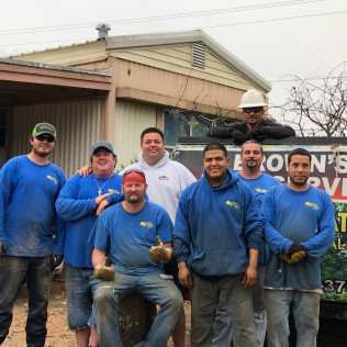 browns tree service co-workers in fort worth tx